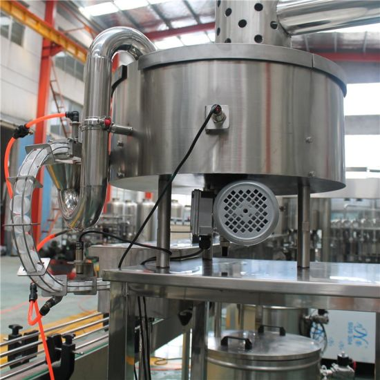Complete Automatic Spring Tape Water Rinsing Filling Sealing Machinery pictures & photos