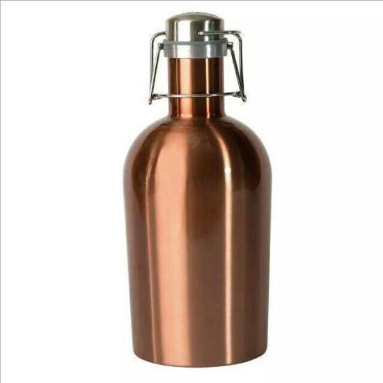 1500ml 1.5L 2L Stainless Steel Vacuum Sport Beer Flask Bottle