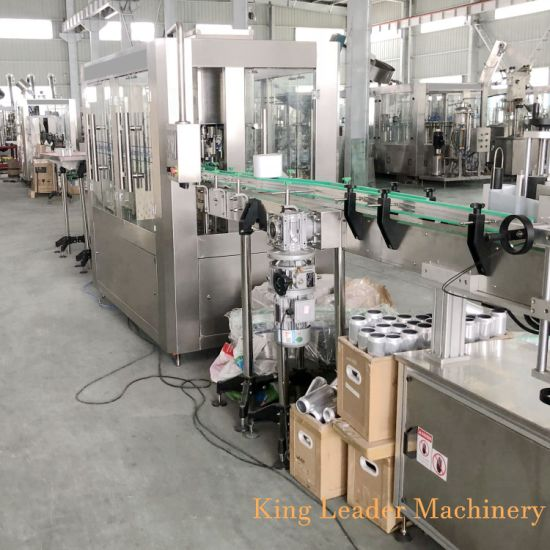 Rotary Type Carbonated Beverage Can Filling Packing Machine