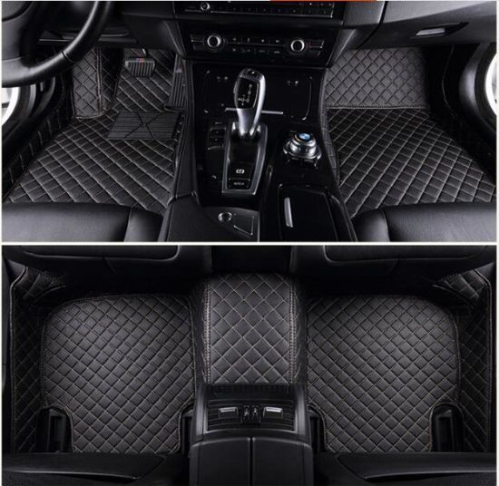 China 5d 3d Full Surrounded Waterproof Xpe Leather Car Mat For