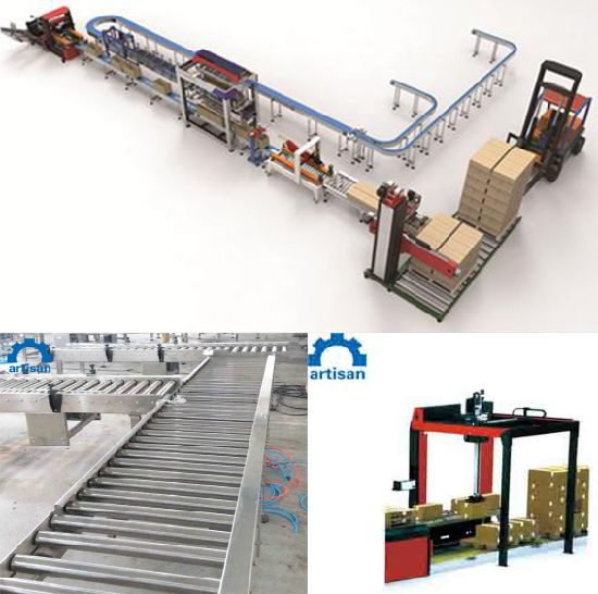 3ply Corrugated Cardboard Production Line for Packing Machinery Corrugated Paperboard Production Line