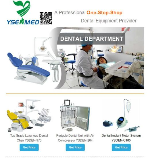 Ysenmed Hot Selling One Station Shopping Medical Hospital Dental Equipment Dental Supplies