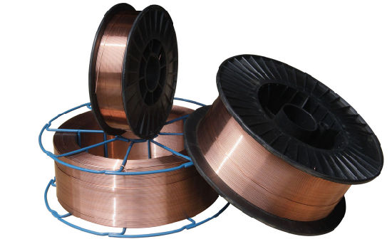 China Aws Er70s-6 Solid CO2 Copper Coated Wire - China Welding ...