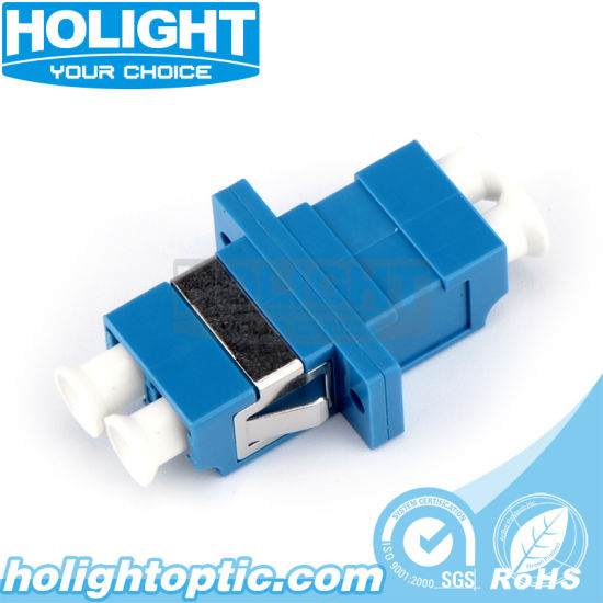 10 pcs LC-LC Fiber Adapter Connector Four LC Adapter Single Fiber Coupler