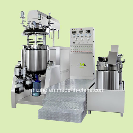 China European Quality Vacuum Emulsifying Mixer Cosmetics Making