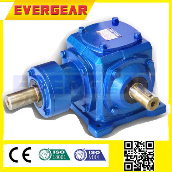 T Series Comer 90 Degree Right Angle Gearbox Speed Reducer