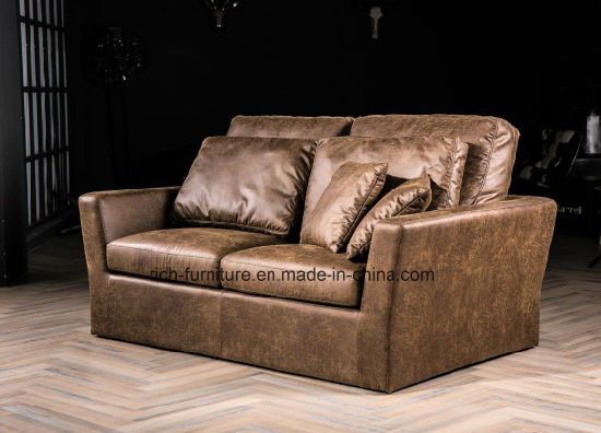 American Style Vintage Leather Sofa