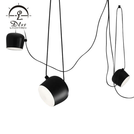 Design Modern Metal Pendant Lamp LED Chandelier