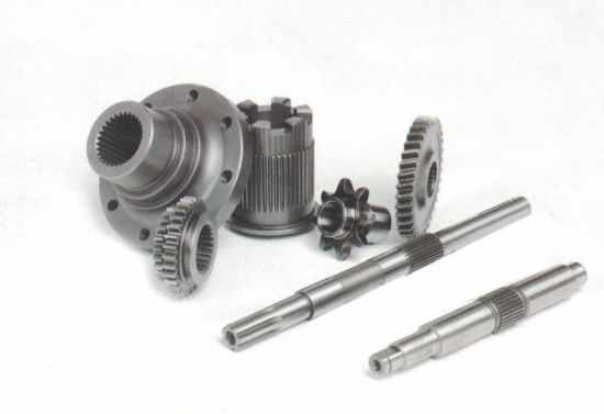 Forged Metal Spur Gear Shaft pictures & photos