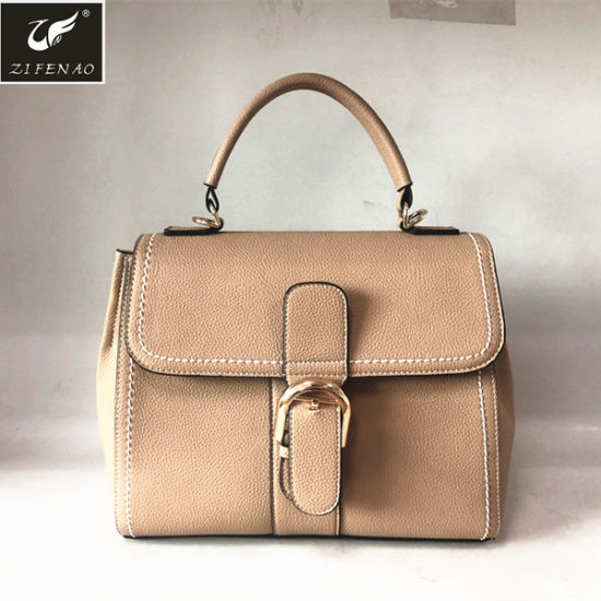 China 2018 Custom PU Leather Women Handbags 67c2ea674be79