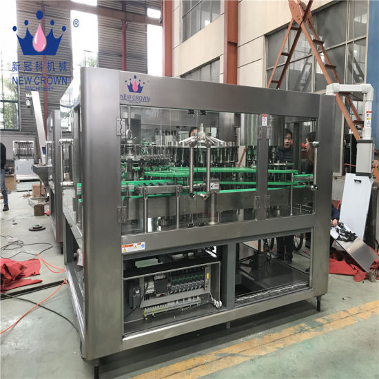 Small Pulp Fruit Juice Filling Bottling Machine for Hot Juice Filling