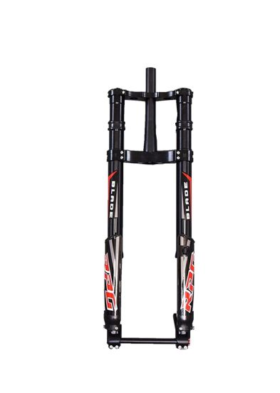 Bicycle Parts Front Fork Fat Bike Dual-Crown Downhill Suspension Fork
