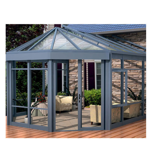 Ready to Ship in Stock Fast Dispatchcustomized Aluminum Frame Winter Garden Sunroom Conservatory Glass Garden Glass House Used Sunroom