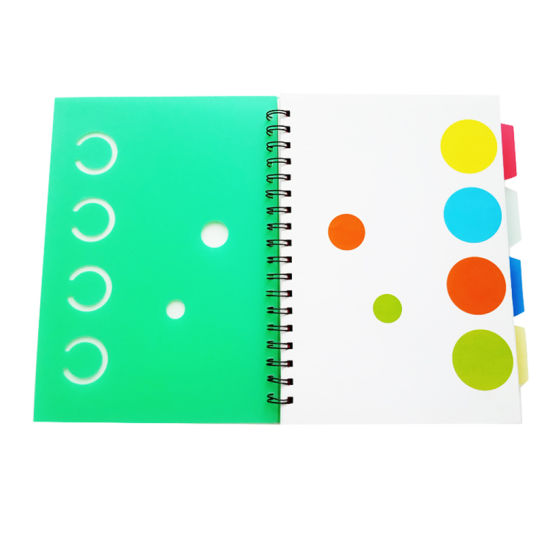Customized Double Spiral Subject Notebook for School Student
