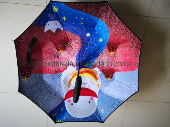 New Design Children Inverted Umbrella, 21 Inch Size, Nice Design for Kids