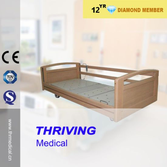 Electric Control Wooden Home Care Bed (THR-EB010)