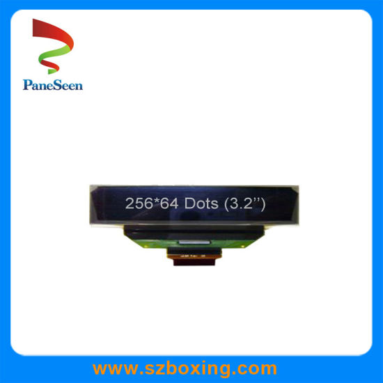 3.2 Inch Yellow Mono OLED Display with 256*64 Dots for Intelligent Bracelet pictures & photos