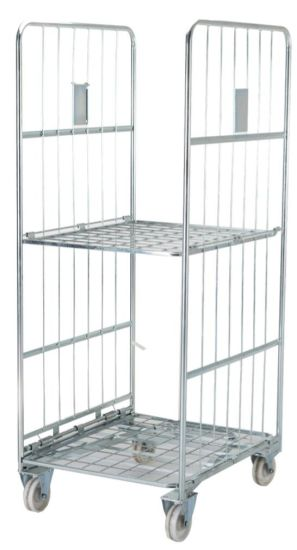 Two Side Storage Container Cage