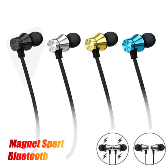 China Xt11 Magnetic Music Bluetooth 4 2 Earphone Sport Wireless Bluetooth Headset With Mic For Iphone Samsung Ypf53 China Bluetooth Headphone And Xt11 Bluetooth Headphone Price