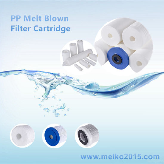10 Inch 20 Inch 5 Micro PP Melt Blown Filter Cartridge for Water Filter