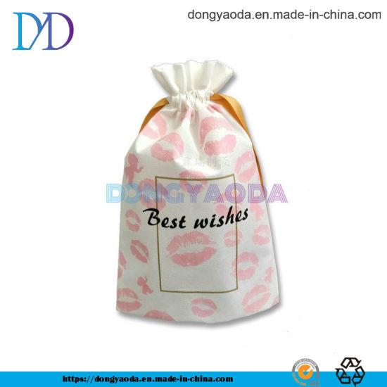 Custom Lip Non Woven Drawstring Gift Bag
