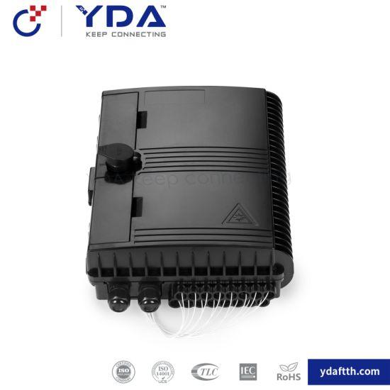 FTTH IP65 Outdoor Box 16 Core Fiber Optic Distribution Box