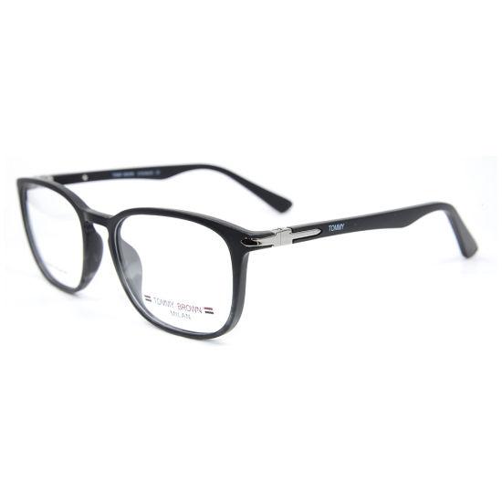 Hot Sale New Fashion Luxury Style Best Quality Square Eyeglasses Tr90 Optical Eyewear Frames for Men