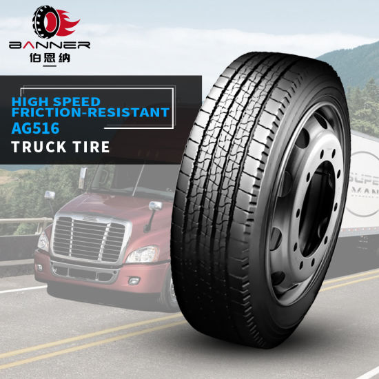 Excellent Truck Tyre TBR Tire with Bus Series AG516 9.5r17.5