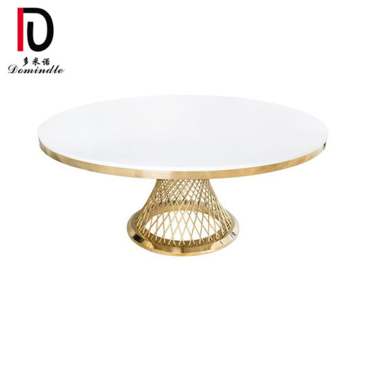 Round Luxury Glass Dining Tables and Marble Table