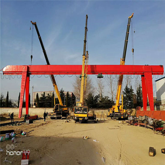 10t 12m Workshop Mobile Eot Single Girder Gantry Crane Price