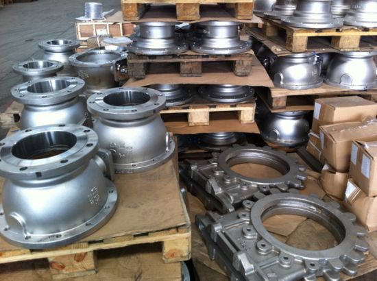 Ball Valve Body Parts Body Bonnet Casting Carbon Steel Casting pictures & photos