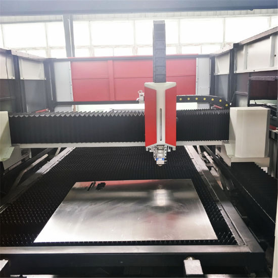 Laser Machine 4kw with Pallet Exchanger (FLX3015-4000PRO) pictures & photos