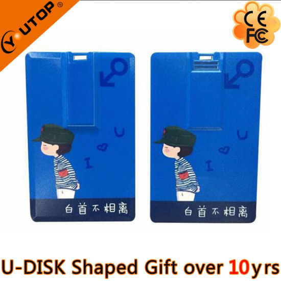 Credit Card USB3.0 Flash Drive for Promotion Gifts (YT-3101-3.0) pictures & photos