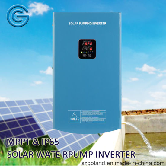 IP65 Hybrid DC to Three Phase AC Solar Water Pump System Inverter pictures & photos