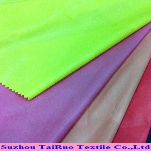 190t Taffeta Poly Fabric for Lining with Stock