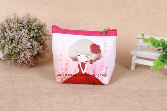 Promotion Advertising Cartoon Figures Cosmetic Coin Bag pictures & photos