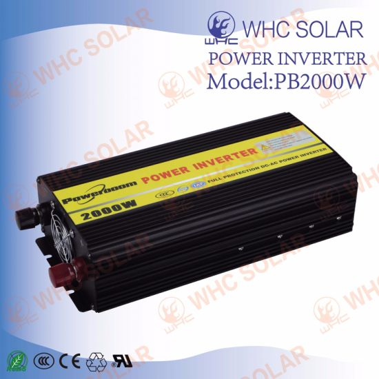 2000W 12V DC to 220V AC Solar Portable Inverter pictures & photos