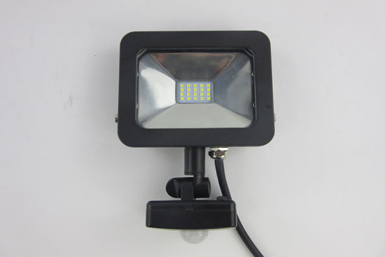 Best Indoor 10W LED Flood Lights with Sensor (AC 10W SMD) pictures & photos