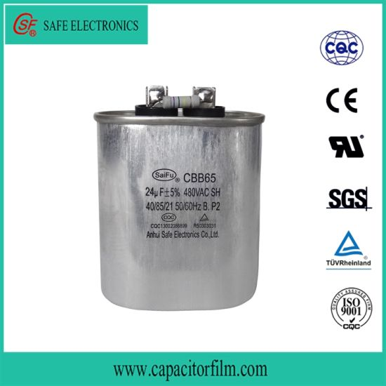 Cbb65 Motor Start Anti-Explosion Capacitor for Air Condition