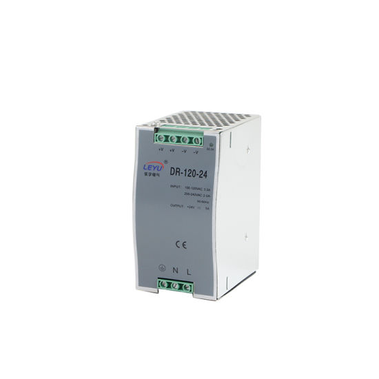Dr-120-24 DIN Rail Single Output Switching Power Supply Driver LED Transformer pictures & photos