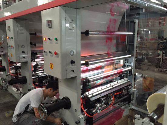 Rotogravure Color Printing Machine for 2 4 6 Colors pictures & photos