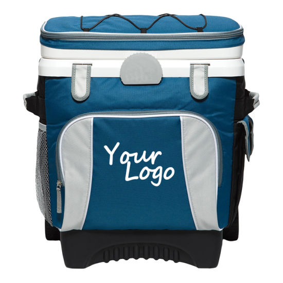 Wholesale Cans Outdoor Camping Picnic Shopping Insulated Rolling Trolley Cooler Bag