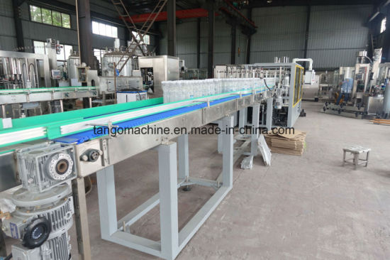 Automatic Bottle Can Container Sink Type Wrap Around Carton Pack Carton Opener Loading Carton Sealer Package Machine 25case/M pictures & photos