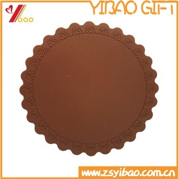 Wholesale High Quality Food Grade Heat Resistant Silicone Coaster pictures & photos