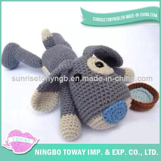 Children Soft Baby Cheap DIY Chinese Knitting Toys
