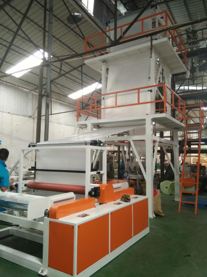 Chsj-Mh High Speed LDPE HDPE PLA Film Blowing Machine
