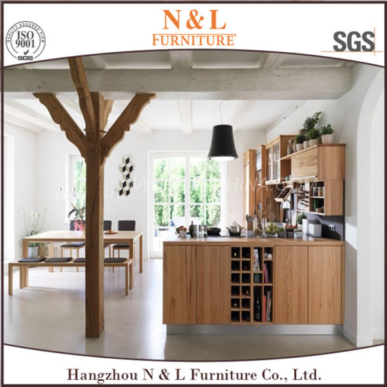 Modular Cheap MFC Kitchen Cabinet Furniture for Hotel Project pictures & photos