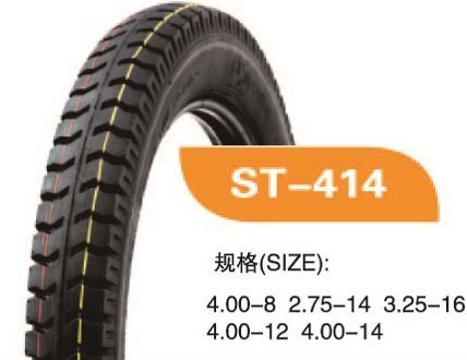 High Quality Motorcycle Tyre With 400-8-6PR ST414