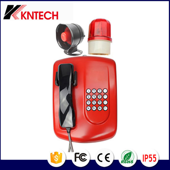 Factory Public Address System Knzd-04A Kntech Hotline Telephone