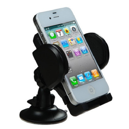 360 Pressure Absorbing Suction Car Mount Phone Holder for iPhone